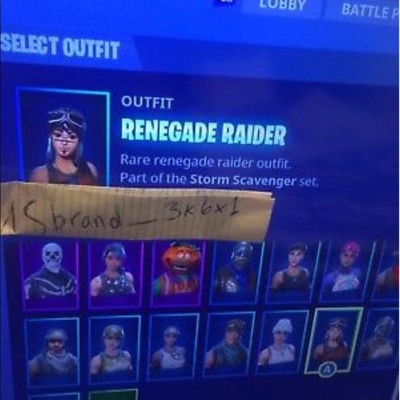 Fortnite Skull Trooper Renegade Raider Ghoul Troop